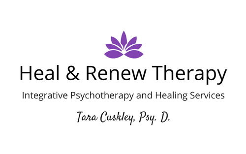 Heal & Renew name centered